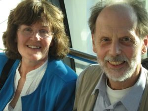 Peter and Anne Boyle July 2008